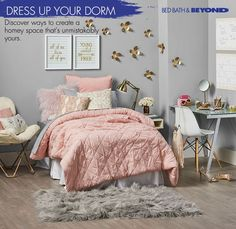 Turn your dorm into a homey space that's unmistakably yours. Ready to start designing? Check out these tips!