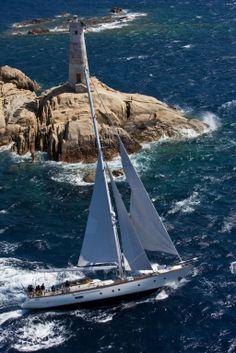 Perini Navi 25 meter sailing yacht 'Ellettra' (formerly Marina)