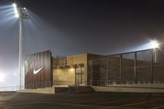 Nike Football Training Center, Soweto, South Africa, desgined by RUFproject (2013 A+ Finalist)