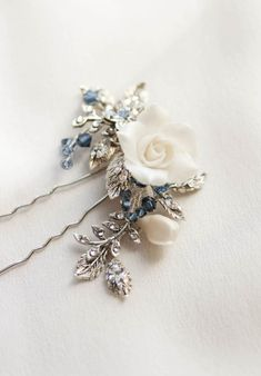 MAYBELLE floral hair pin 6