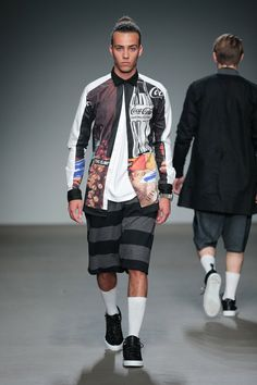 Franzel Amsterdam Spring/Summer 2015 during Mercedes-Benz Fashion Week Amsterdam.