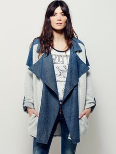 Free People Chambray Trench, $168.00