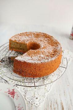 Beetroot Chia Seed Chiffon Cake