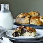 Light and airy buns filled with huge chunks of gooey, melted chocolate. Need I say more?