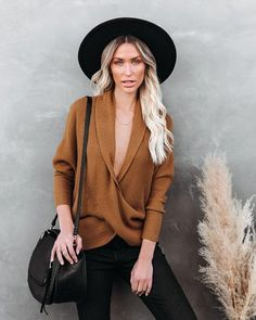 Tops – Page 20 – VICI Mountain Hat, Dress Bar, Coatigan, Black 7, Sweater Weather, Chic Outfits, Camel, Leather Jacket, Clothes For Women