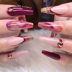 What Nail Polish Brand Should Be Used for Stiletto Nails ? - Page 3 of 9 - Nails. - What Nail Polish Brand Should Be Used for Stiletto Nails ? – Page 3 of 9 – Nails – - Bling Nails, Stiletto Nails, My Nails, Nail Swag, Cute Nails, Pretty Nails, Nagel Bling, Nagellack Trends, Nail Polish Brands