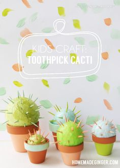 Make a cactus using