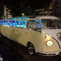 VW Bus Limo = totally AWESOME!