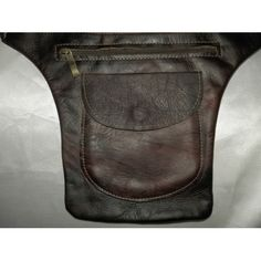 Waist leather - one pocket and one zip - Arabic