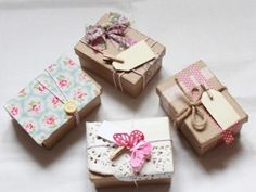 Wedding Favour Boxes | LittleDaisyKnits MISI Handmade Shop