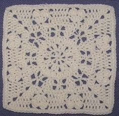 Crochet Stitches To Inches : about 12 inch squares crochet along inspiration on Pinterest Crochet ...
