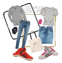 """""""couplescostumes #asourself"""" by lindacorp on Polyvore featuring Topshop, Fear of God, Frame, Onitsuka Tiger, G-Shock and Baby-G"""