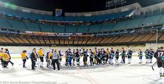 2014 Stadium Series Los Angeles - For The Last Time: Dodger Stadium Ice Will Be Just Fine