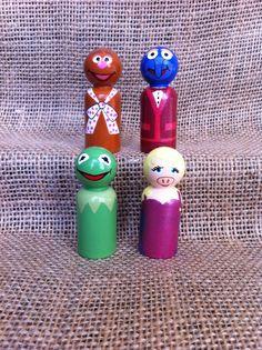 Muppets Peg People