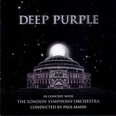 Deep Purple - capa do CD In Concert With The London Symphony Orchestra/Netflix HD 1080p