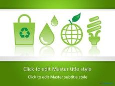 Free toxic ppt template projetos para experimentar pinterest free eco friendly ppt template for csr presentations or slide designs requiring a sustainability background template with clean water green earth and toneelgroepblik Gallery