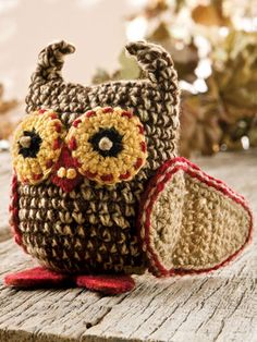 Crochet for Babies & Children - Crochet Gift Patterns for Babies & Kids - Free Crochet Pattern -- Little Hootie