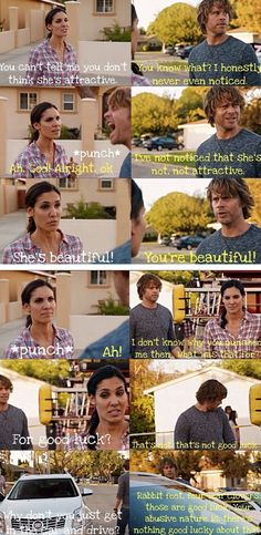#Densi Moments. She really presents quite a show pretending not to care.