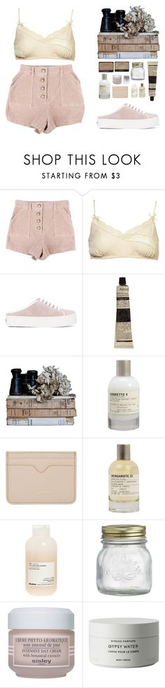"""""""{ p e a c e }"""" by ilmee ❤ liked on Polyvore featuring StyleNanda, Opening Ceremony, NARS Cosmetics, Aesop, Le Labo, Alexander McQueen, Liberty, Davines, Crate and Barrel and Sisley"""