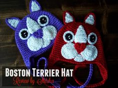 Boston Terrier Hat –