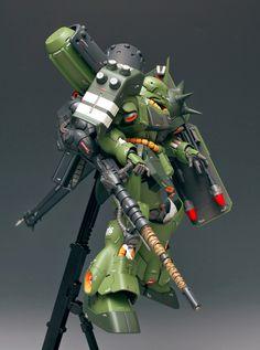 MG 1/100 Geara Doga [Heavy Armament Type] - Customized Build