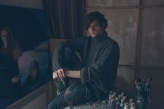 Photographer: Alon Shastel  Styled by Arya Haliba  Assisted by Katerina Exarchou Model: Toni Petkov at Marilyn Agency Paris  for Fucking Young! Online. Hair & Make-Up: Dorith Albagli Paintings: Henri Wisley @ 59 Rivoli Paris