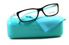 Eyeglasses Tiffany TF2036 8055 TOP BLACK/BLUE DEMO LENS Tiffany. $128.50