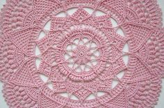 Crochet doily pattern TAALA Instant download