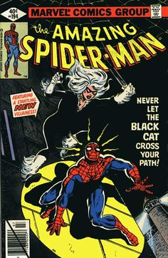 Amazing Spider-Man #194 - First appearance of The Black Cat