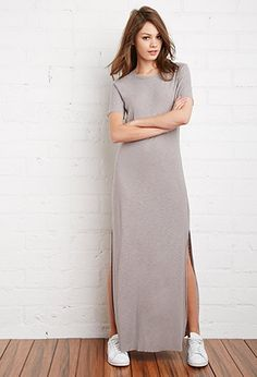 Midi & Maxi | WOMEN | Forever 21-- something I'd wear in the Fall.