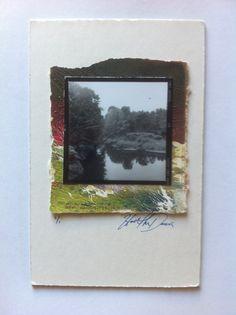 Medium format 2/14 contact print on a monotype $5.00 Artgurl13 etsy