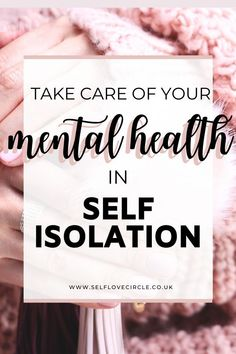 With most of the world going into self-isolation to protect themselves against it is more important than ever to practice self-care and prioritize your mental health. Read these 6 ways to practice self-care in self-isolation. Mental Health Recovery, Mental Health Disorders, Mental Health Conditions, Mental Health Matters, Mental Health Issues, Mental Health Awareness, Anxiety Tips, Stress And Anxiety, Anxiety Help