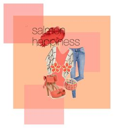 """""""Salmon Happiness"""" by juice2003 on Polyvore featuring Cheap Monday, WearAll, H&M, JY Shoes, Urban Decay and Liz Claiborne"""