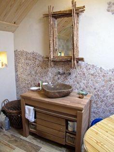 Keramisch parket in de badkamer. Vanity, Bathroom Vanity, Bathroom, Single Vanity