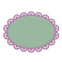 Free SVG File – Sure Cuts A Lot – 04.25.11 – Liesl's Lacey Oval