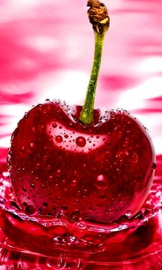 Apple Think Cherry wallpapers Wallpapers) – HD Wallpapers Summer Wallpaper, Colorful Wallpaper, Flower Wallpaper, Nature Wallpaper, Hd Wallpapers For Mobile, Pretty Wallpapers, Mobile Wallpaper, Red Fruit, Fruit Art