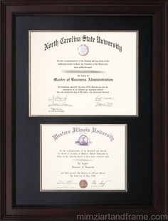 Auburn Diploma Frame With Toomer S Then And Now Photograph