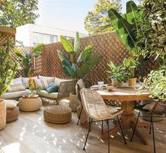 Porch And Balcony, Patio Interior, Terrace Design, Backyard Retreat, Rooftop Garden, Outdoor Furniture Sets, Outdoor Decor, Garden Inspiration, Outdoor Living
