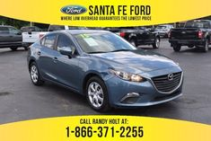 Used 2015 Mazda Mazda3 i Sport FWD Car For Sale Gainesville FL - 41228Q Mazda Mazda3, Mazda 3, Car Ford, Manual Transmission, Toyota Corolla, Ford Mustang, Used Cars, Cars For Sale, Touring