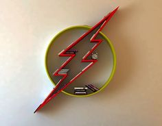 "Check out new work on my portfolio: ""The Flash logo, shelf, interrior, design, bookshelf"" Batman Bookshelf, Bookshelves, Deco Gamer, 2 Logo, Bookshelf Design, 3d Prints, Woodworking Plans, Wood Projects, Diy Furniture"