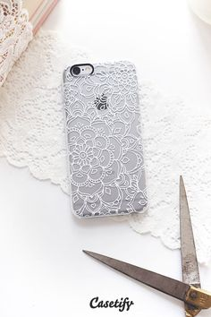 Click through to see more Lace iPhone 6 case designs. Pick your favorite mandala lace! >>> https://www.casetify.com/collections/lace | @Casetify