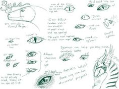 Dragon Eye Tutorial by NakaseArt