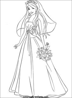 Barbie und ken in einem foto ausmalbilder barbie barbie coloring pages wedding coloring - Coloriage top model a imprimer ...