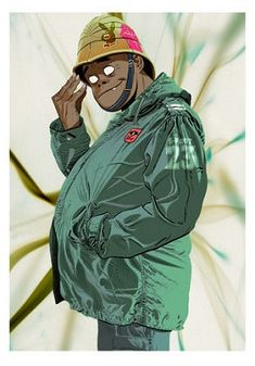 Here is a place where I will post all of the official Gorillaz art. I claim none of this art and it is all created by Jamie Hewlett. I will NOT be posting any fan art (including edits). Russel Gorillaz, Gorillaz Albums, Russel Hobbs, Mc Bess, Jamie Hewlett Art, Sunshine In A Bag, Monkeys Band, Wal Art, Graffiti