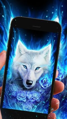 Cool arctic wolf live wallpaper for you!