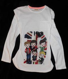 Nueva camiseta terminada, One Direction