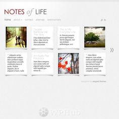 DailyNotes Theme Review - Elegant Themes