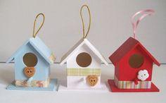 Artangel: New line - mini birdhouses