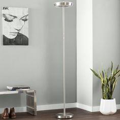 "Juniper 71"" LED Torchiere Floor Lamp Torchiere Floor Lamp, Contemporary Floor Lamps, All Modern, Your Style, Flooring, Led, Lighting, Modern Floor Lamps, Wood Flooring"