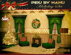 TS2 to TS4 Conversion of Piru by Nanu Holiday Set, this set includes:❅Armchair: 1 original non holiday texture, re-colours by DLMulsow: 4 textures, re-colours by me:4 textures.❅Floor lamp: 1 original non holiday texture, re-colours by DLMulsow: 4 textures, re-colours by me:4 textures.❅Deco box: 1 original non holiday texture, re-colours by DLMulsow: 4 textures, re-colours by me:4 textures.❅Scented christmas candles: 1 original non holiday texture, re-colours by DLMulsow: 4 textures…